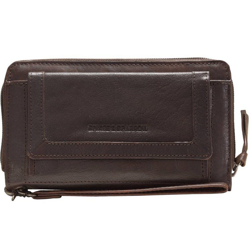 Spikes & Sparrow Bronco Geldbörse Leder 19,5 cm in brown