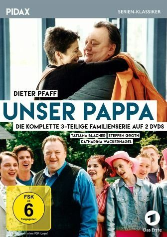 DVD »Unser Pappa - Die komplette 3-teilige Serie (2...«