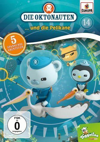 DVD »Die Oktonauten... und die Pelikane«