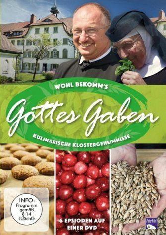 DVD »Wohl bekomm's: Gottes Gaben - Kulinarische...«