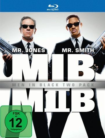 Blu-ray »Men in Black / Men in Black II (2 Discs)«