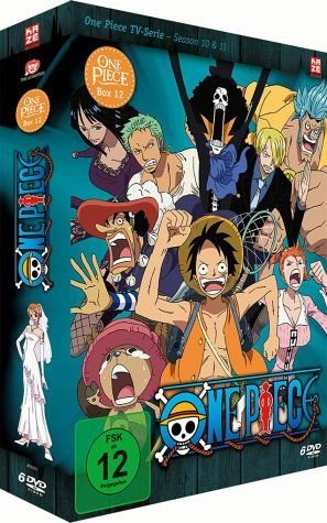 DVD »One Piece - Die TV Serie - Box Vol. 12 (6 Discs)«