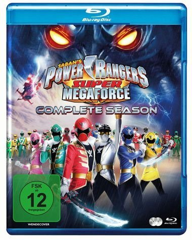 Blu-ray »Power Rangers - Super Megaforce: Complete...«