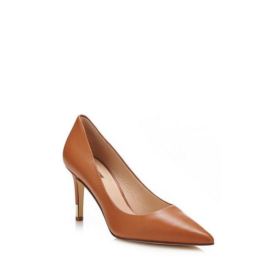 Guess Zapatos Ele aus Leder in Braun