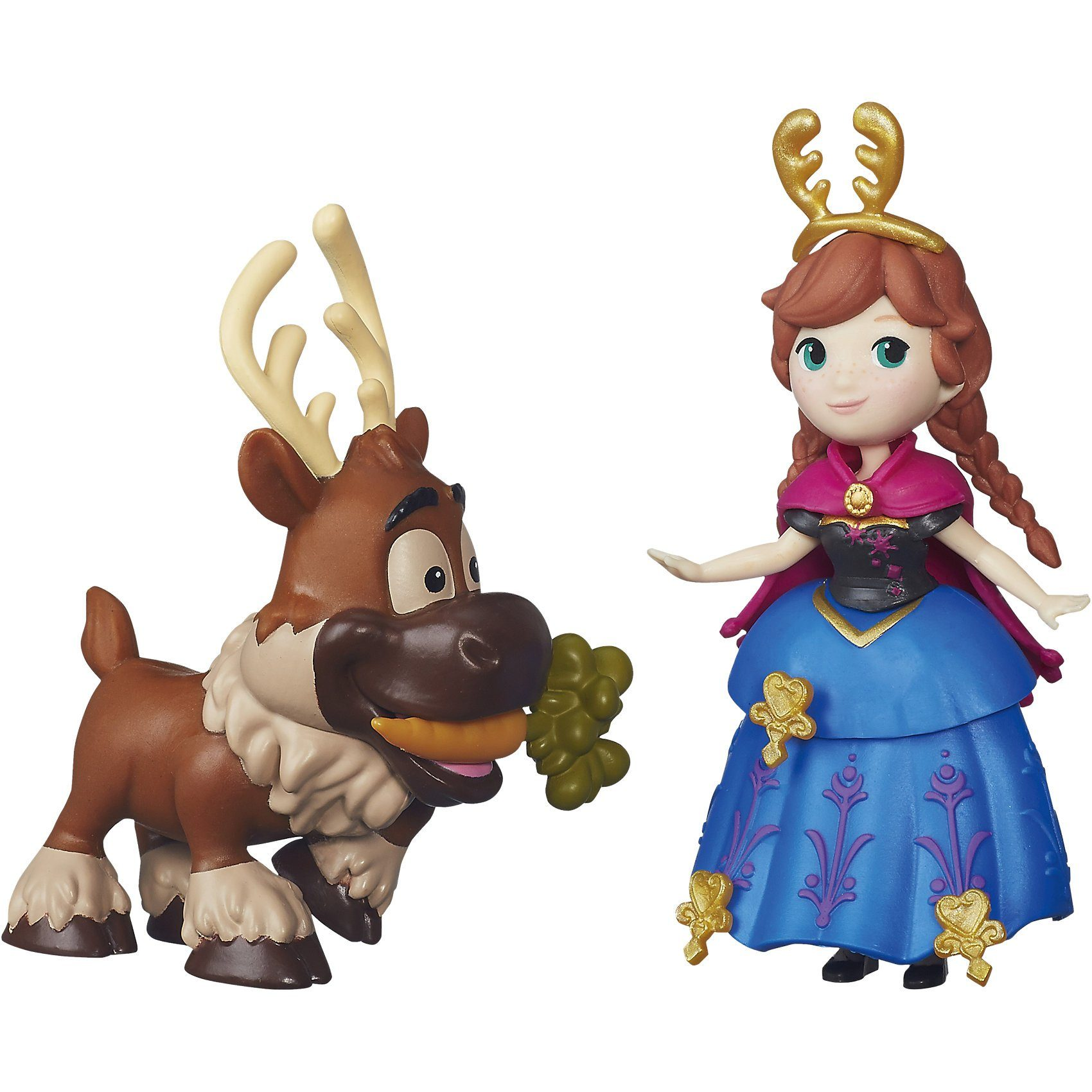 Hasbro Die Eiskönigin Little Kingdom Freunde-Set Anna & Sven