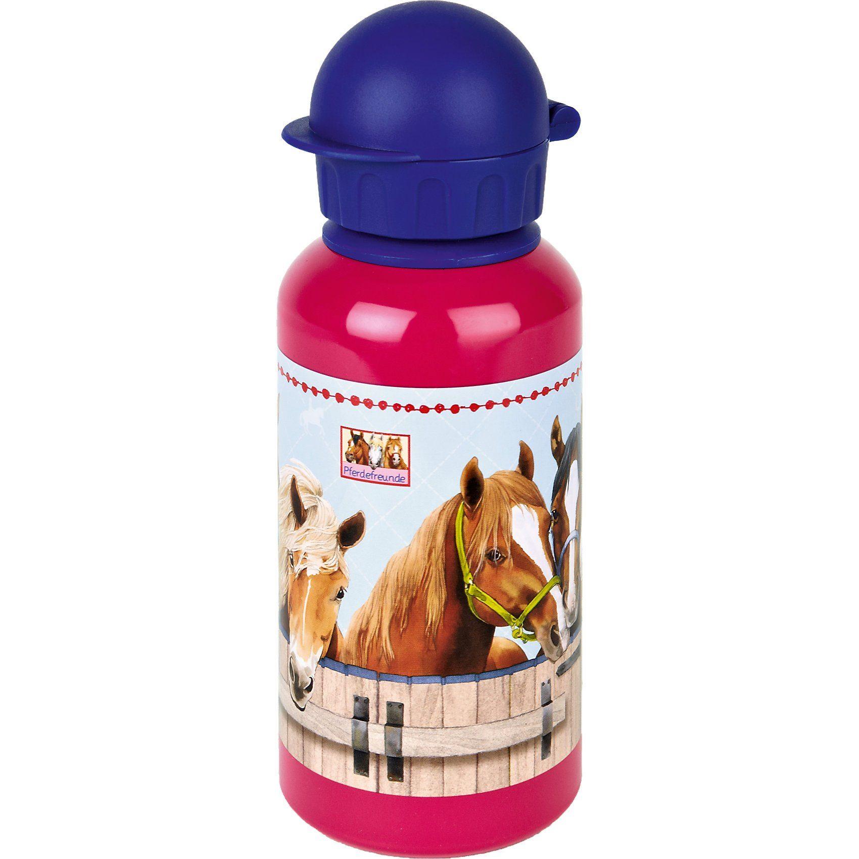 Spiegelburg Alu-Trinkflasche Pferdefreunde (0,4 l)