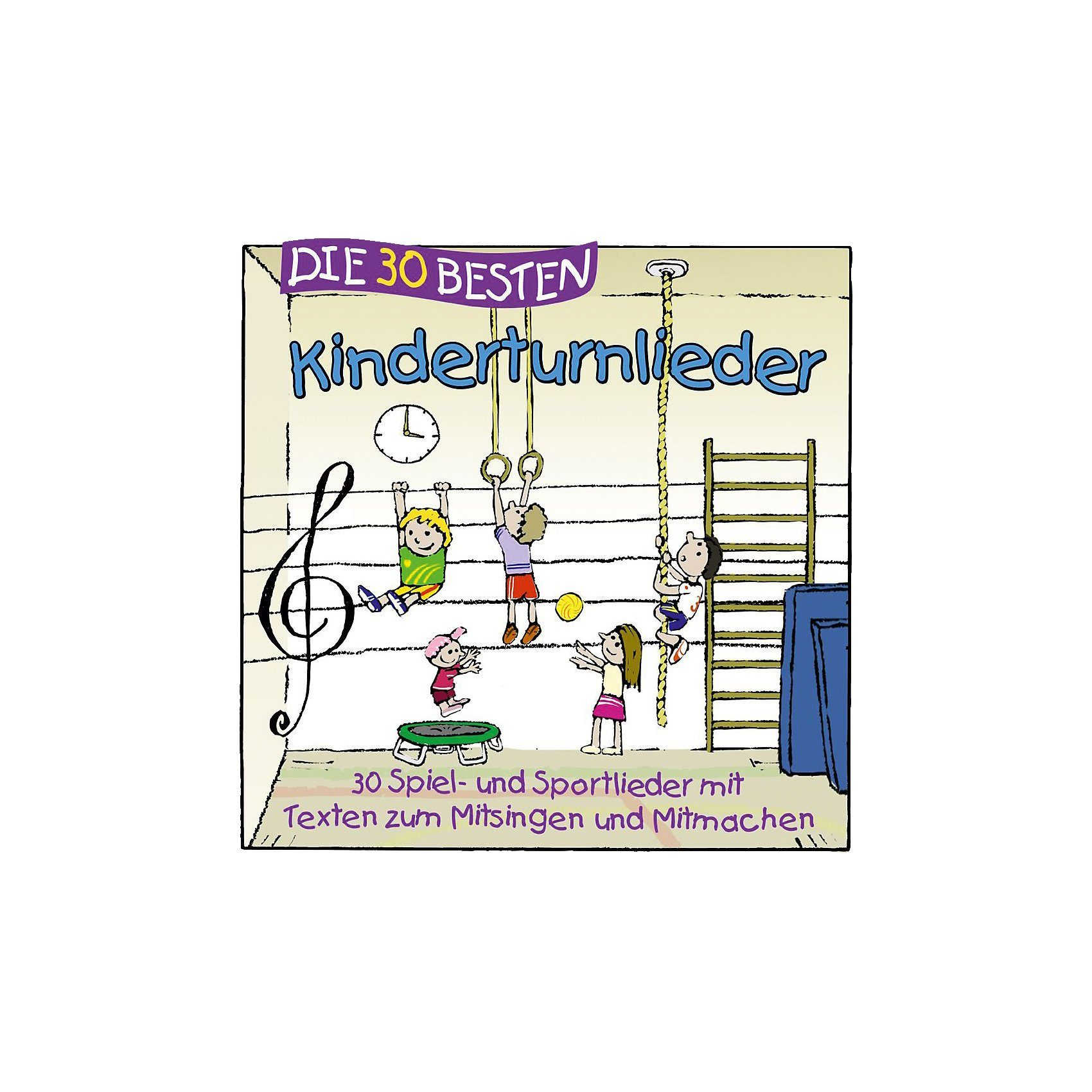 Universal CD Die 30 besten Kinderturnlieder
