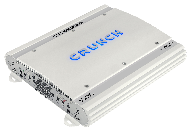 Crunch Vierkanal-Verstärker zum Einbau in Kfz »GTI4100, 4 x 200 Watt MAX an 2 Ohm« ein Stück