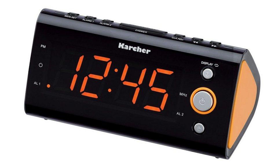 Karcher Radiowecker »UR 1040-O« in Orange