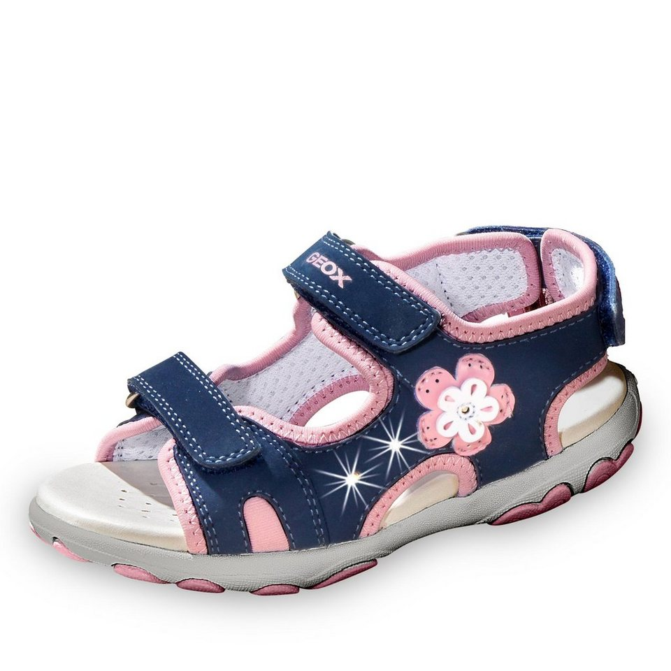 Geox Cuore Sandale in marine/rosa