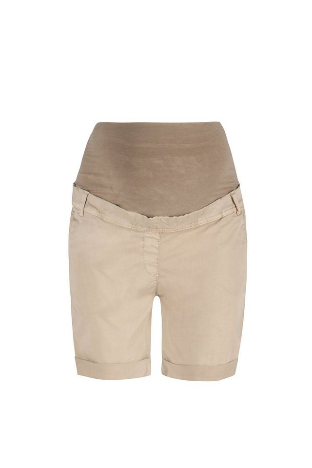 BELLYBUTTON Shorts für Schwangere »Ragna, 5 Pocket Style« in safari