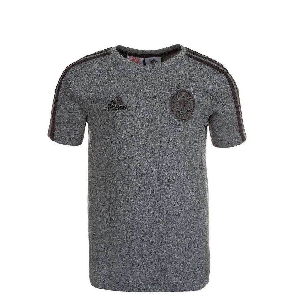 adidas Performance DFB 3 Stripes T-Shirt EM 2016 Kinder in grau / schwarz