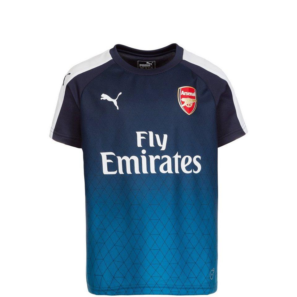 PUMA Arsenal London Stadium T-Shirt Kinder in dunkelblau / hellbla