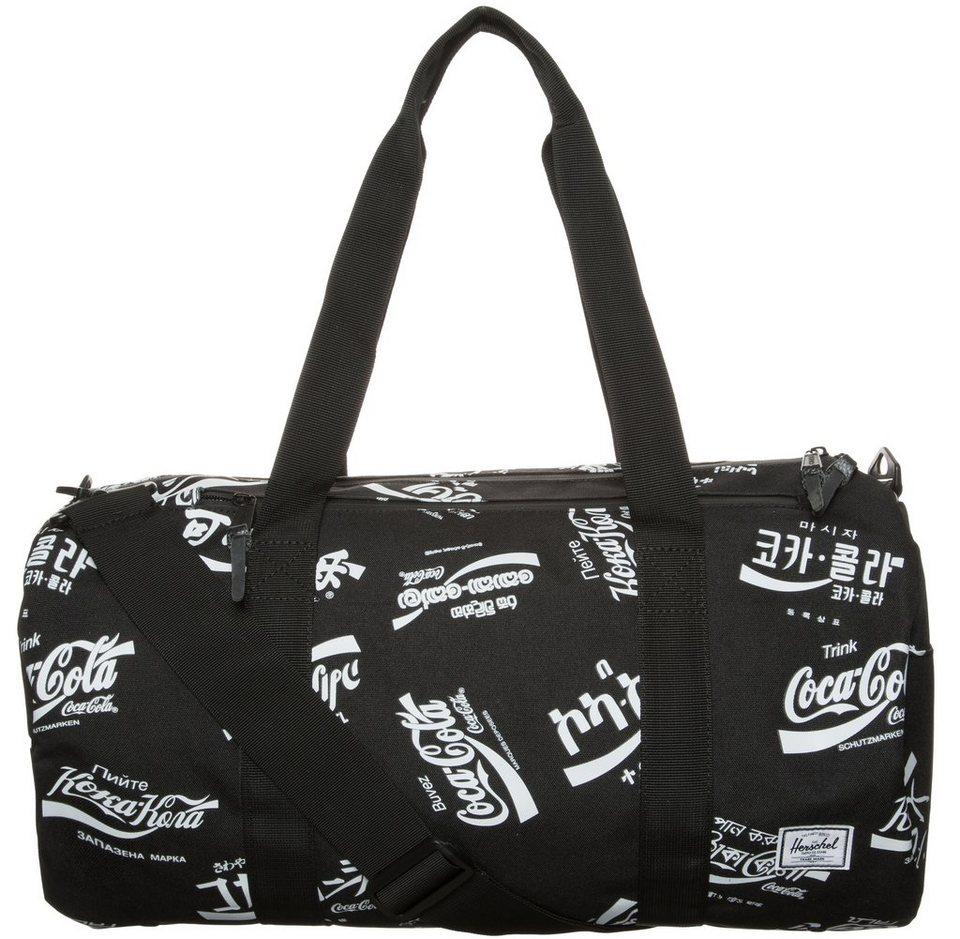 Herschel Sparwood Duffel Tasche in schwarz / weiß