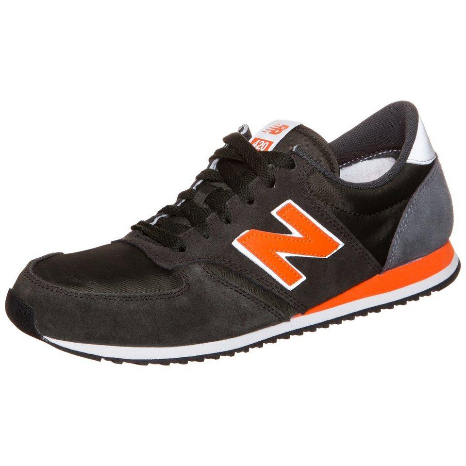 NEW BALANCE U420-RGO-D Sneaker in dunkelgrün / orange