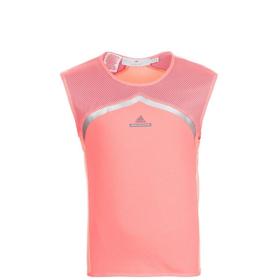 adidas Performance Stella McCartney Barricade Tennisshirt Kinder in pink / orange
