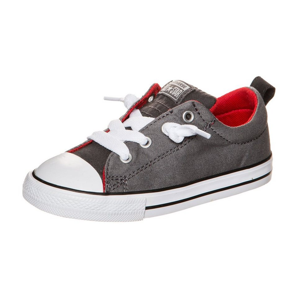 CONVERSE Chuck Taylor All Star Street Slip Sneaker Kleinkinder in grau