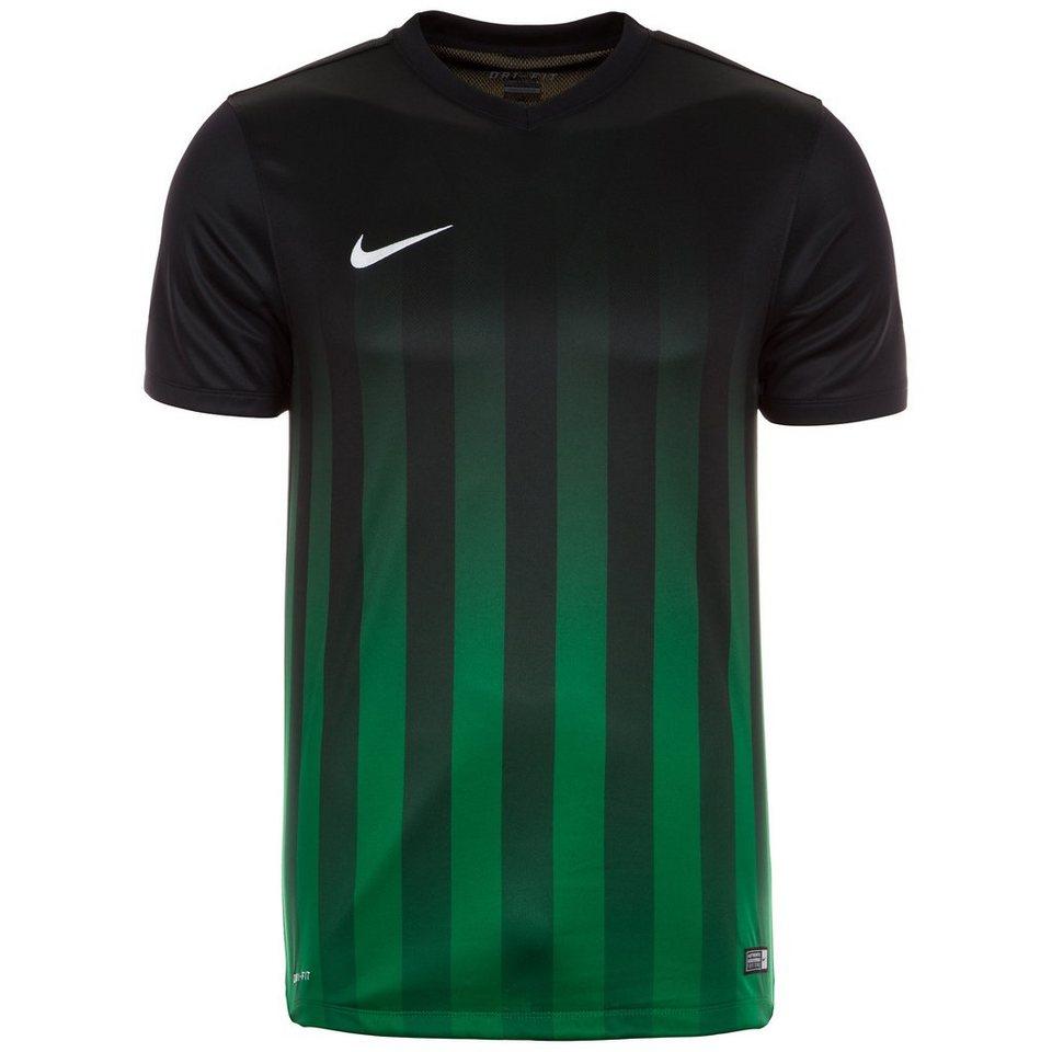 NIKE Striped Division II Fußballtrikot Herren in schwarz / grün