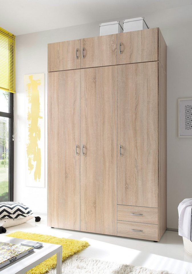 kleiderschrank inkl aufsatz online kaufen otto. Black Bedroom Furniture Sets. Home Design Ideas