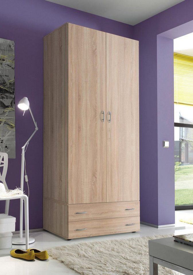 kleiderschrank inkl schubkastenunterbau kaufen otto. Black Bedroom Furniture Sets. Home Design Ideas