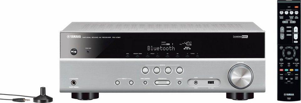RX-V381 5.1 AV-Receiver mit Bluetooth in titansilberfarben