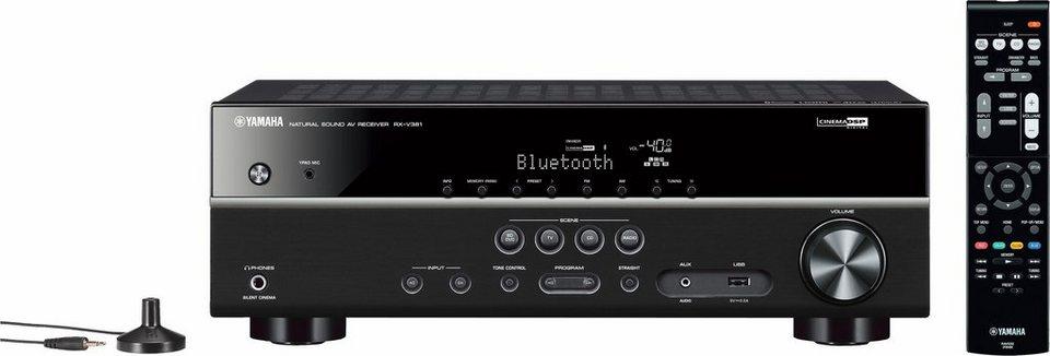Yamaha RX-V381 5.1 AV-Receiver (Bluetooth) in schwarz