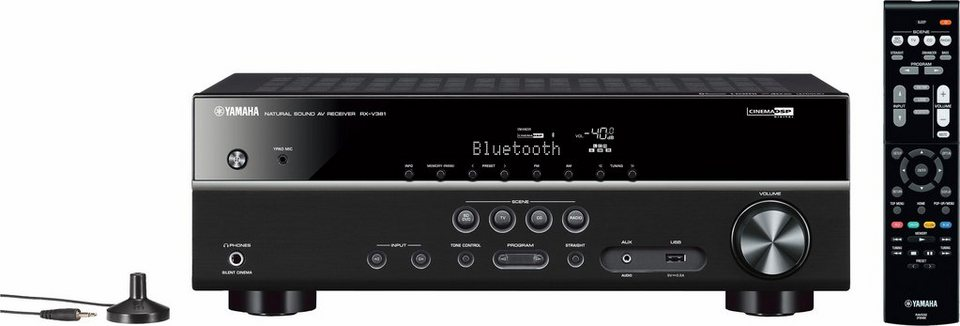 yamaha rx v381 5 1 av receiver mit bluetooth otto. Black Bedroom Furniture Sets. Home Design Ideas