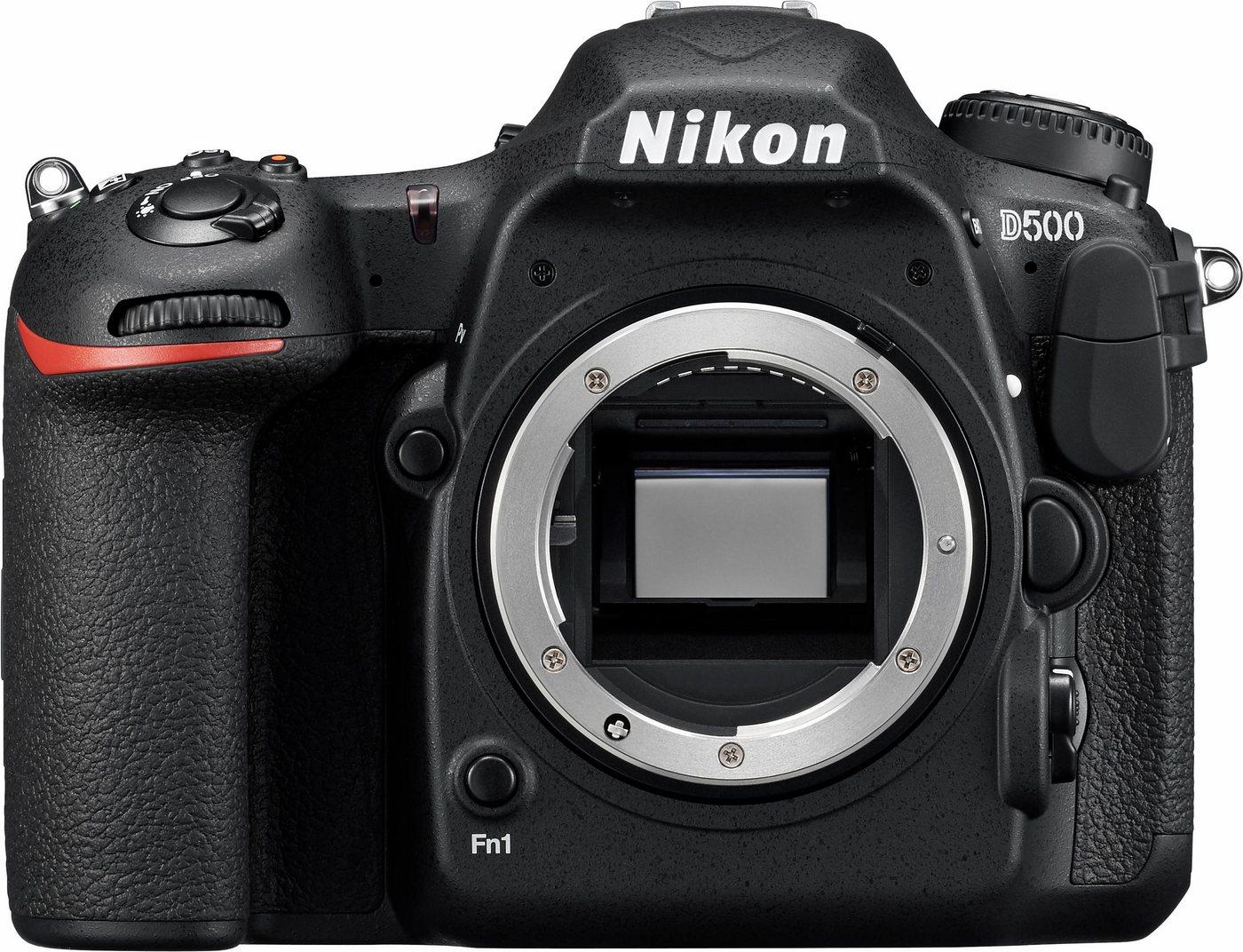 Nikon D500 Body Spiegelreflex Kamera, 20,9 Mega...