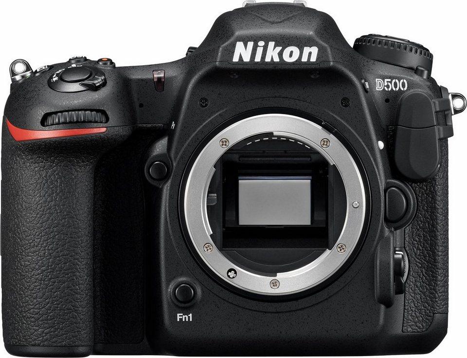 Nikon D500 Body Spiegelreflex Kamera, 20,9 Megapixel, 8 cm (3,2 Zoll) Display in schwarz