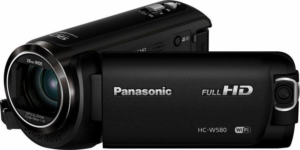 Panasonic HC-W580EG-K 1080p (Full HD) Camcorder, WLAN in schwarz