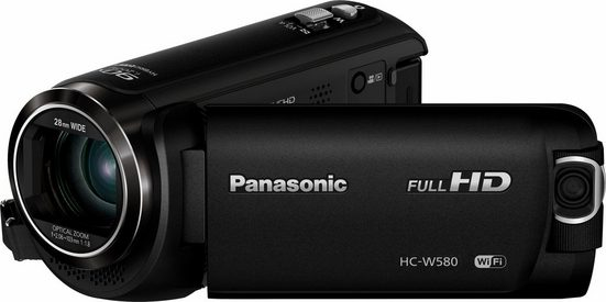 Panasonic »HC-W580EG-K« Camcorder (Full HD, WLAN (Wi-Fi), 50x opt. Zoom, Bildstabilisator)