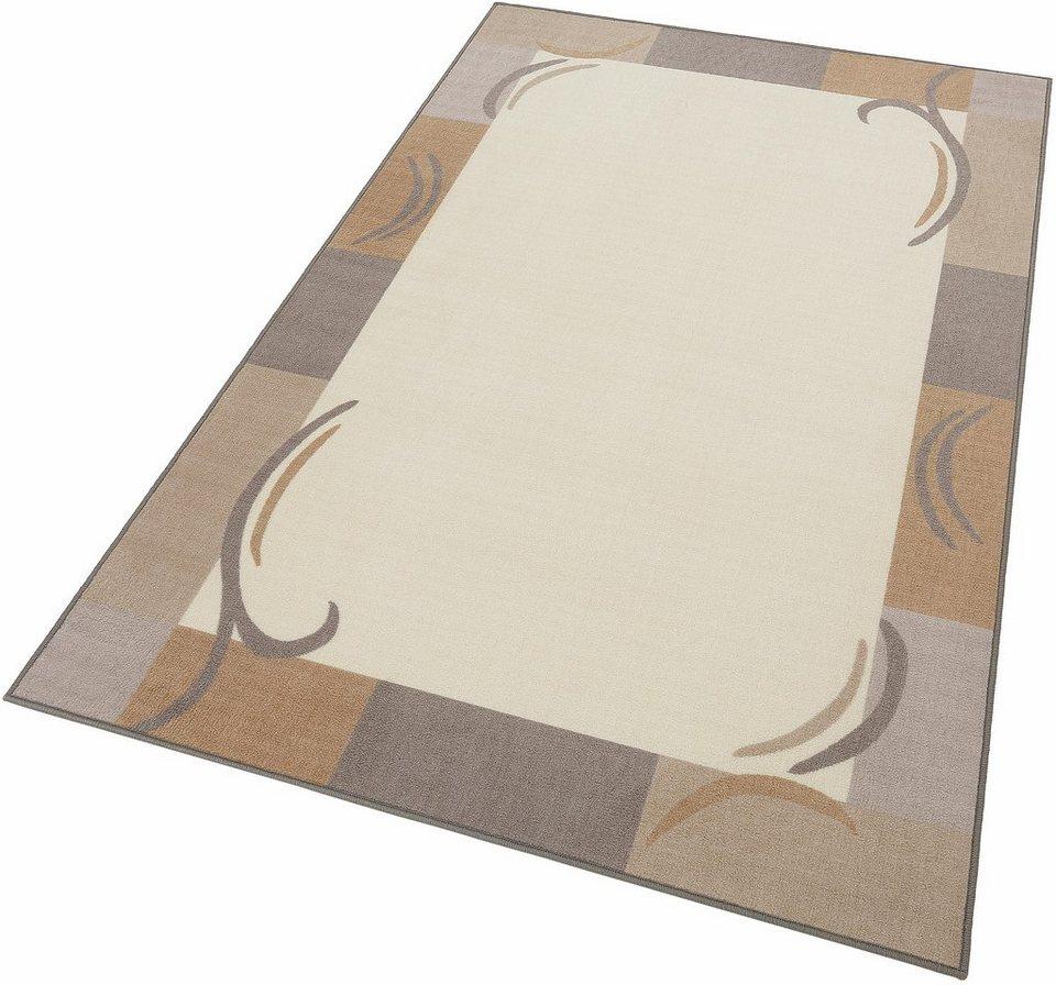 Teppich, Theko, »Bani«, gewebt in beige