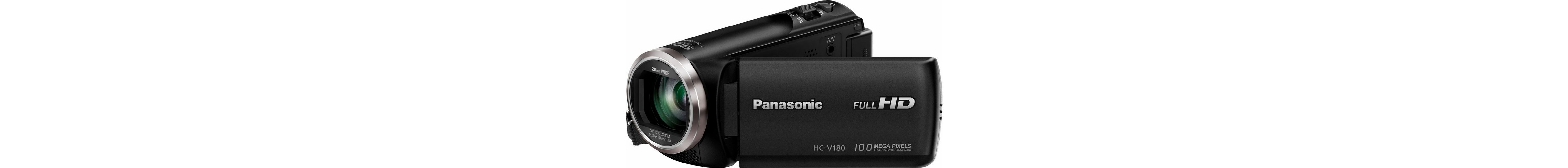 Panasonic HC-V180EG-K 1080p (Full HD) Camcorder