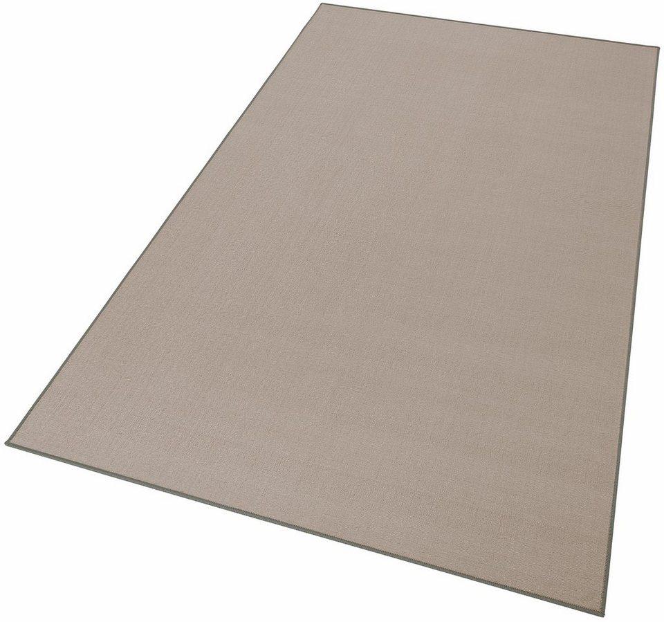 Teppich, Theko, »Belaja«, gewebt in grau