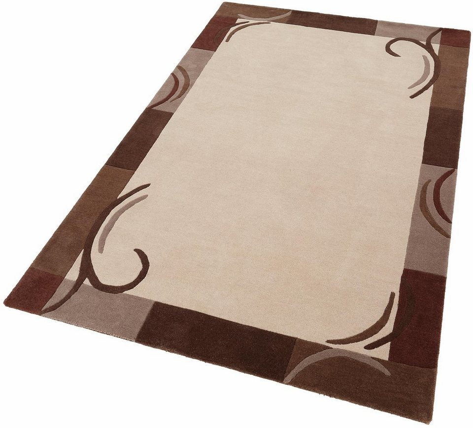 Teppich »Benue«, Theko exklusiv, rechteckig, Höhe 13 mm in braun