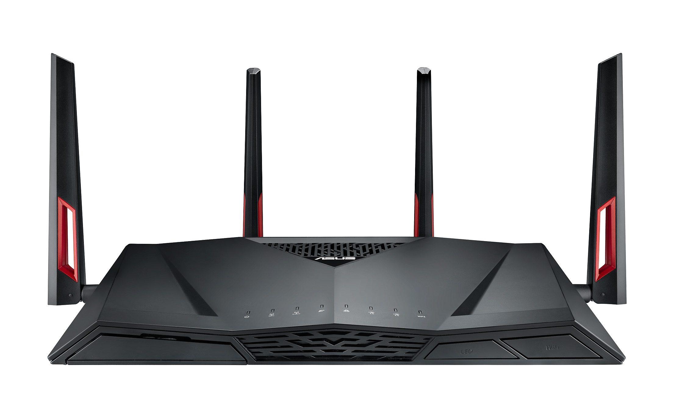 ASUS RT-AC88U AC3100 schwarz Gigabit WLAN Router »RT-AC88U AC3100«