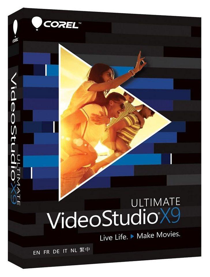 COREL Videobearbeitungssoftware »VideoStudio ProX9 Ult.Mini-Box(ML)(VSPRX9ULMLMBEU)« in schwarz