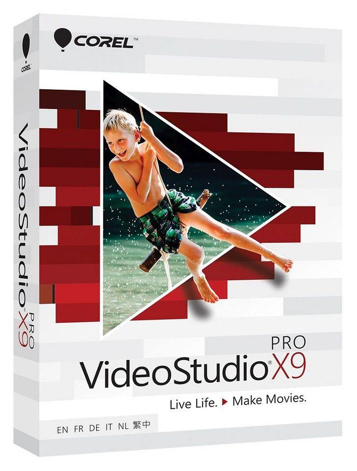 COREL Videobearbeitungssoftware »VideoStudio Pro X9 (ML) (VSPRX9MLMBEU)« in weiß