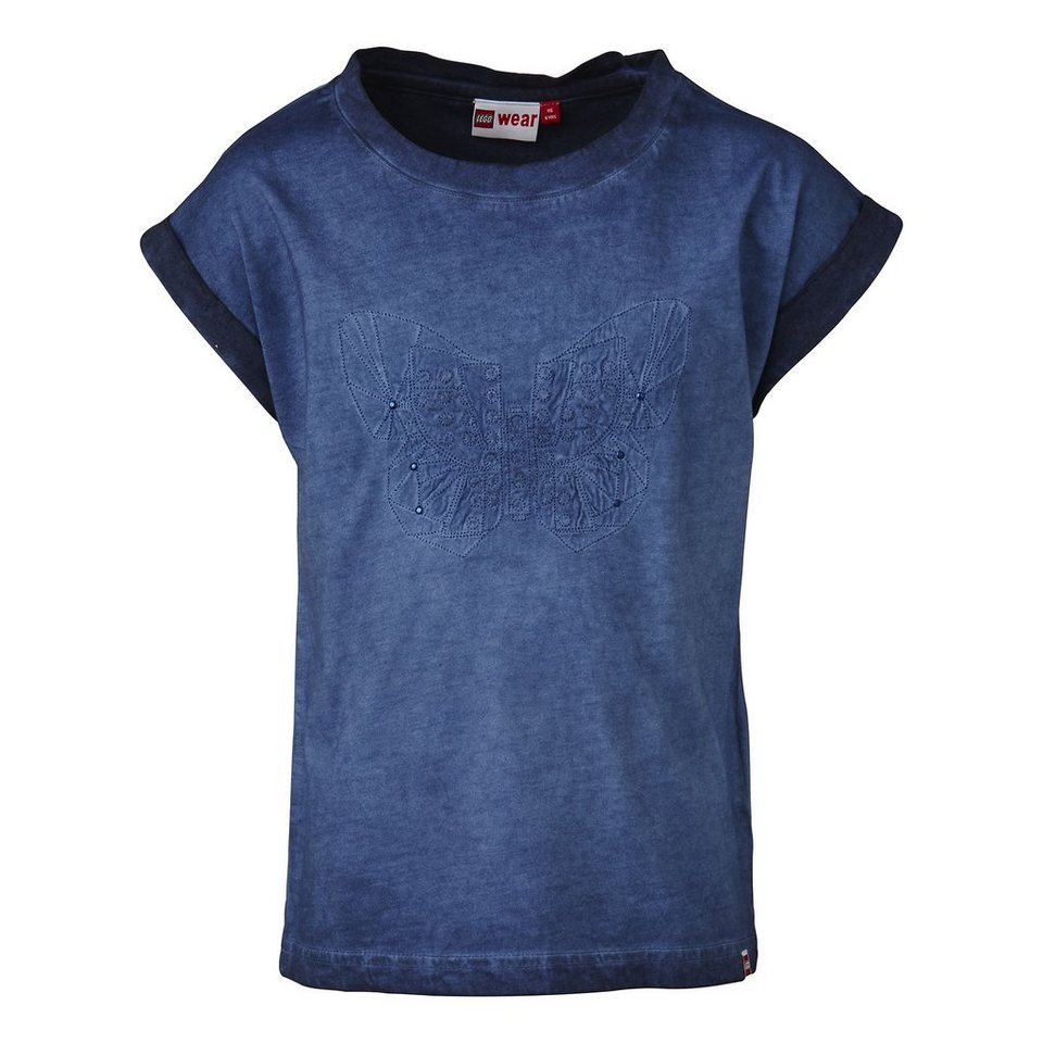 "LEGO Wear Brick?N Bricks ärmelloses T-Shirt Tamara ""Butterfly"" Shirt in dunkelblau"