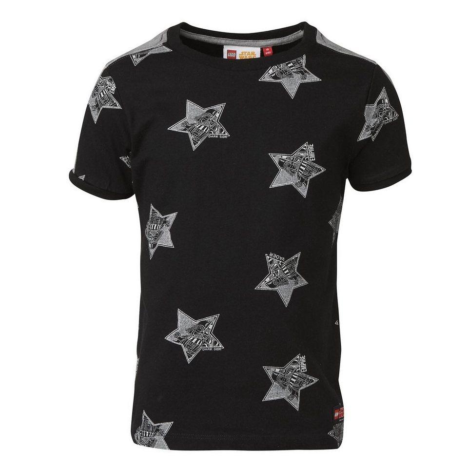 """LEGO Wear STAR WARS(TM) T-Shirt Tony """"Stars"""" kurzarm Shirt in schwarz"""
