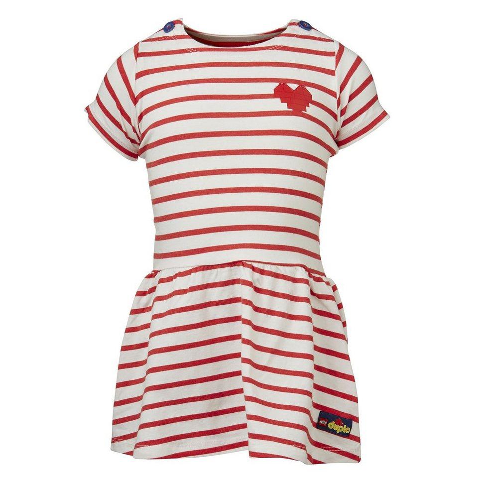 """LEGO Wear Duplo Jersey Kleid Deena """"Stripes"""" Dress in rot"""