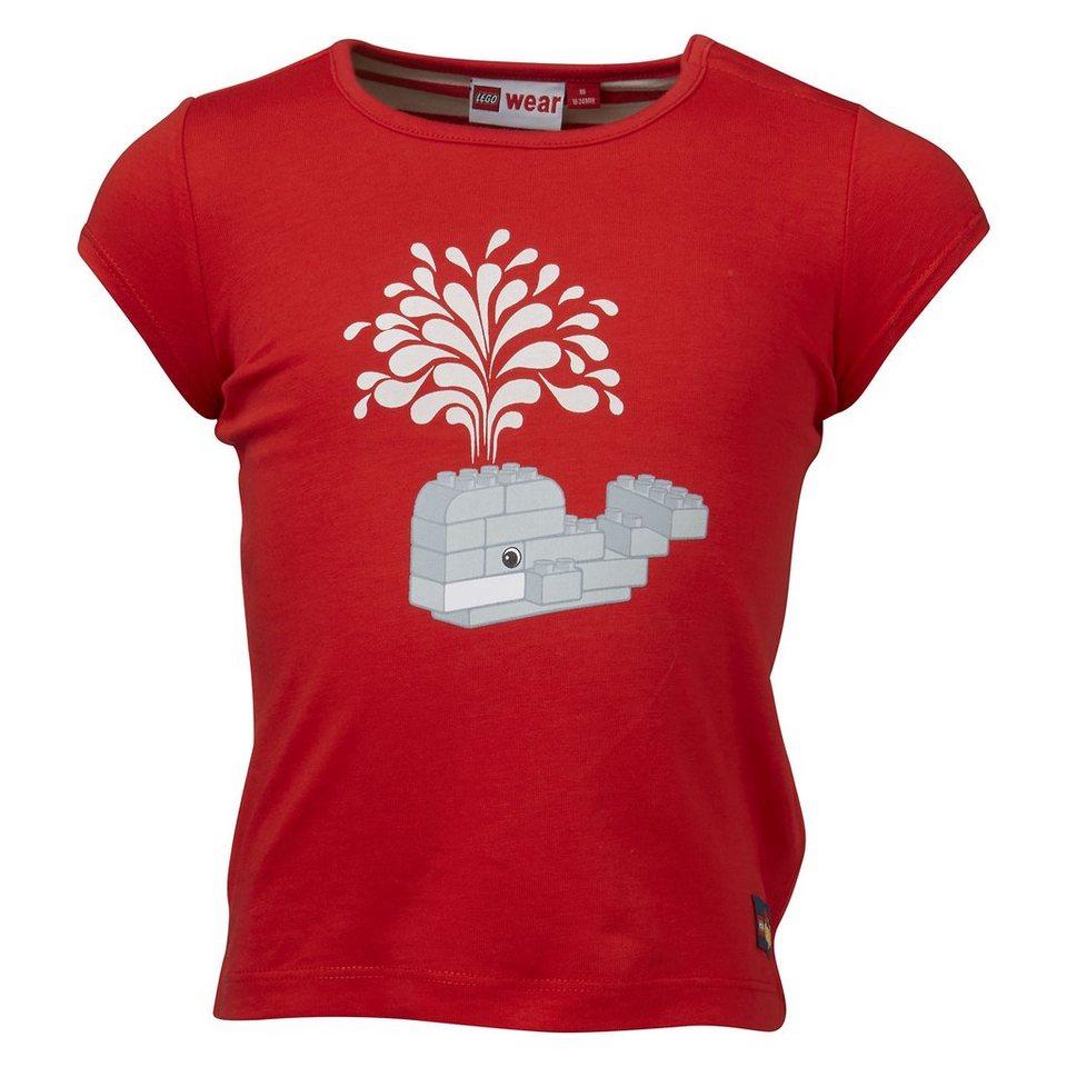 """LEGO Wear Duplo T-Shirt """"Whale"""" ärmellos Shirt Tiff Top in rot"""