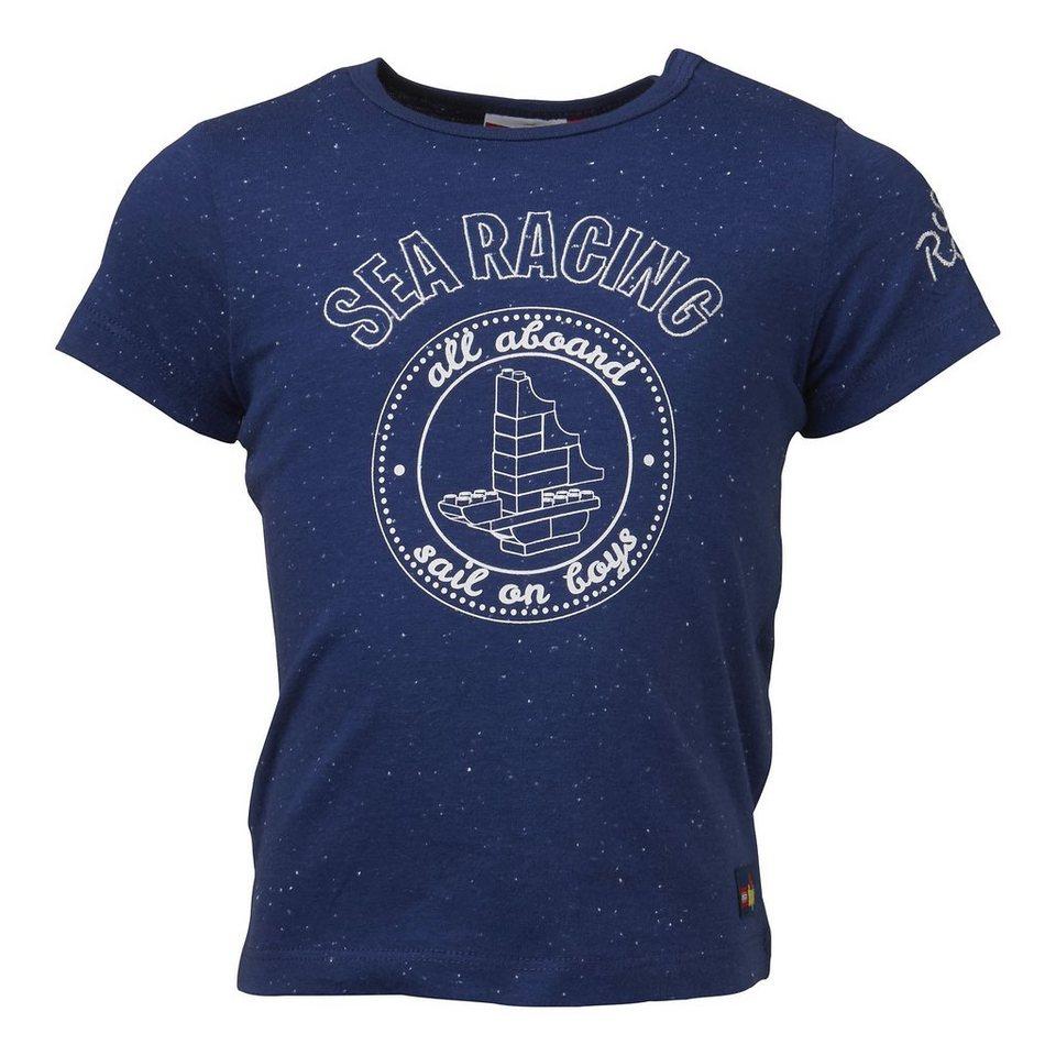 "LEGO Wear Duplo T-Shirt kurzarm ""Sea Racing"" Shirt Trey in dunkelblau"