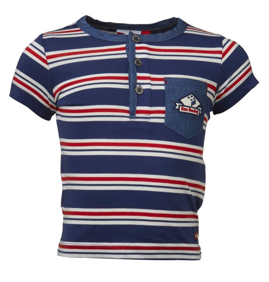 LEGO Wear Duplo T-Shirt kurzarm Shirt Trey gestreift in dunkelblau