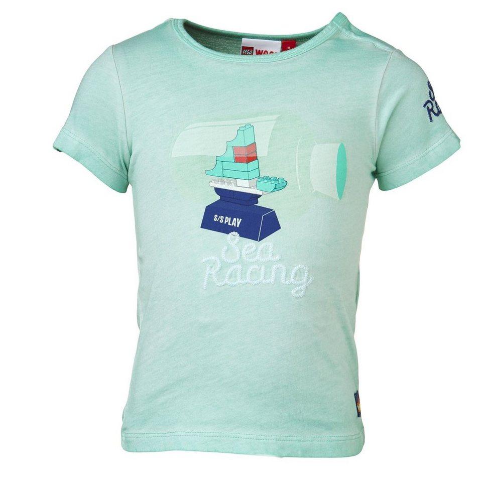 "LEGO Wear Duplo T-Shirt ""Sea Racing"" kurzarm Shirt Trey in türkis"
