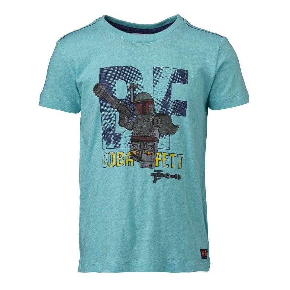 "LEGO Wear STAR WARS(TM) T-Shirt Tony ""Boba Fett"" kurzarm Shirt in türkis"