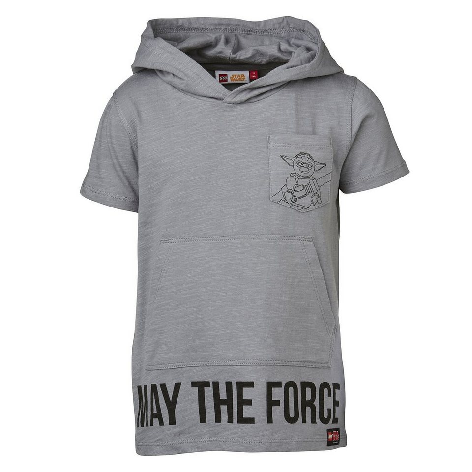 lego wear star wars tm t shirt mit kapuze tony yoda. Black Bedroom Furniture Sets. Home Design Ideas
