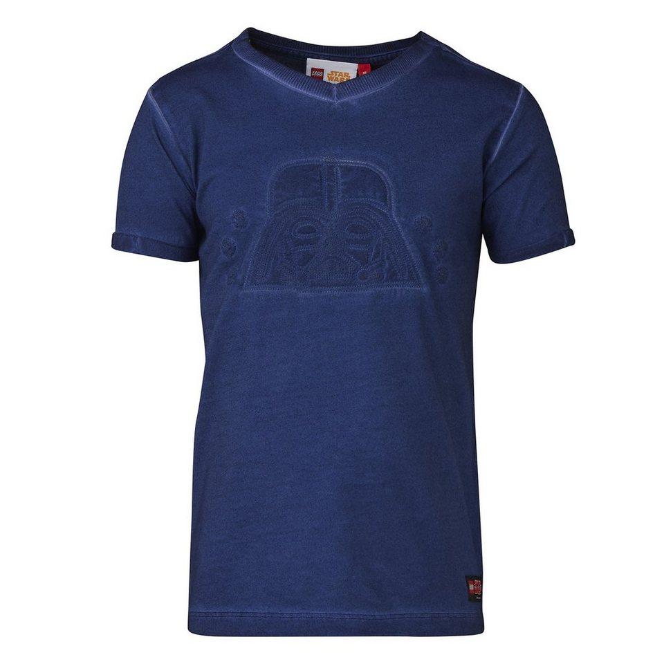 "LEGO Wear STAR WARS(TM) T-Shirt Tony ""Vader"" kurzarm Shirt in dunkelblau"