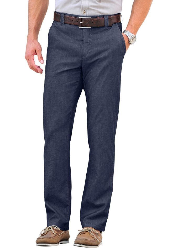 Marco Donati Hose in blue-stone-washed