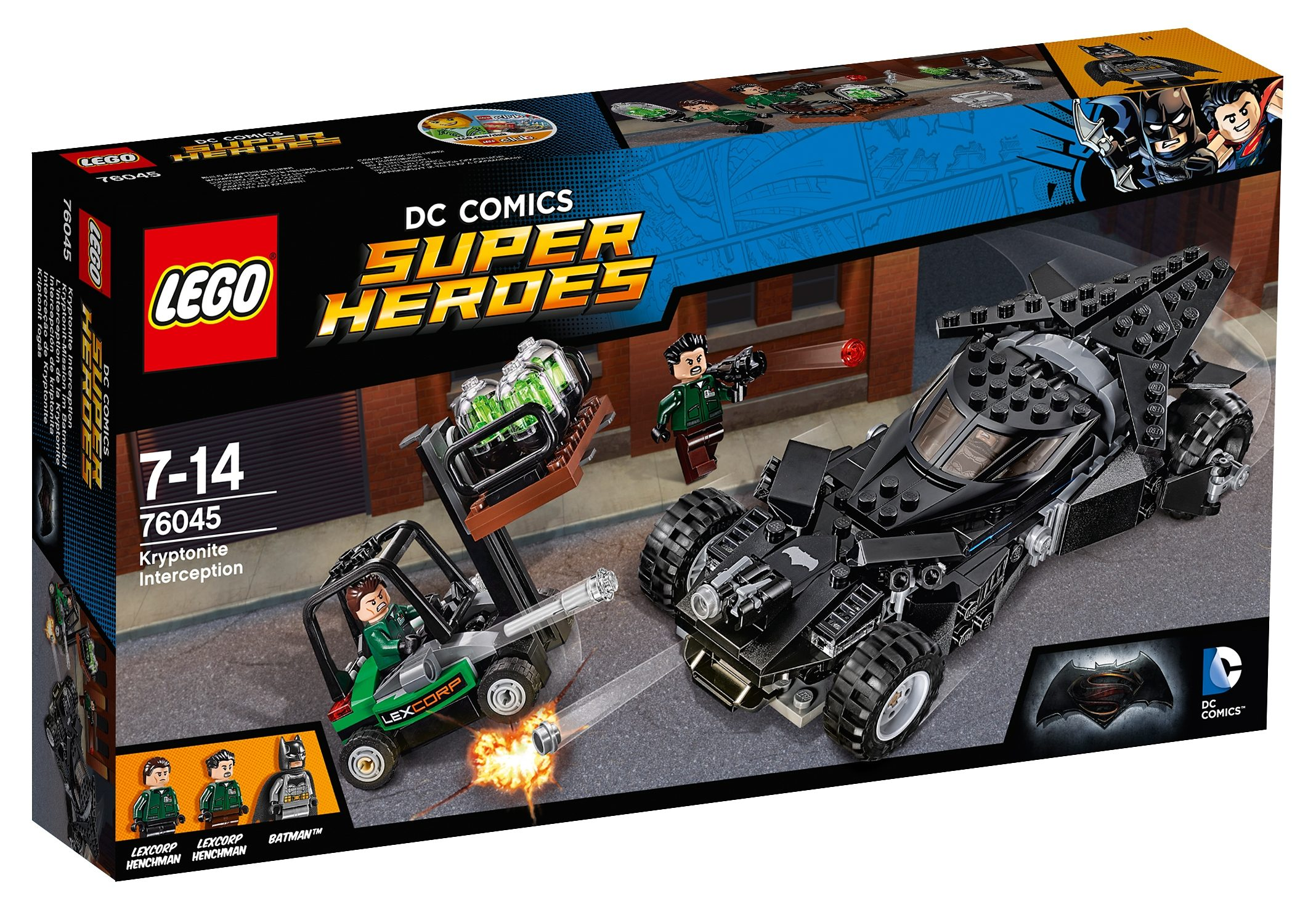 LEGO®, Kryptonit-Mission im Batmobil (76045), »LEGO® DC Comics Super Heroes«